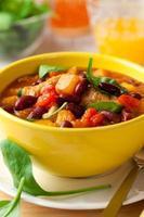 ragu de peru com legumes foto