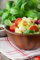 salada fresca de verão foto