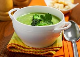 sopa vegetariana foto