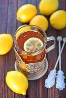 chá fresco foto