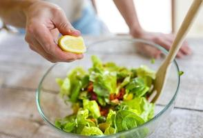 ingredientes para salada