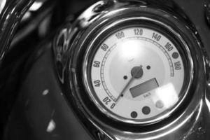 velocímetro da motocicleta foto