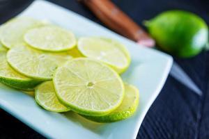 limão fresco foto