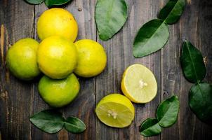 limão fresco
