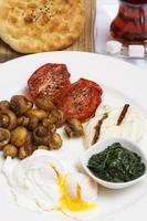 grande café da manhã turco foto