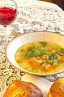 sopa de casamento italiano