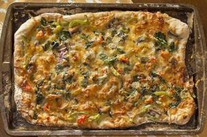 pizza artesanal foto