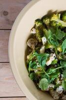 salada de verduras frescas