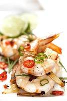 camarão alho com pimenta foto