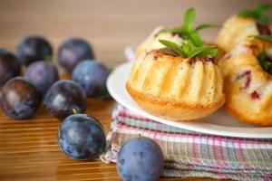 muffins de ameixa foto