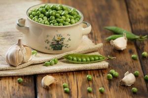 ervilhas verdes foto
