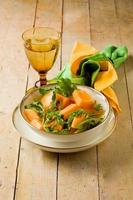 salada de melão e rúcula foto