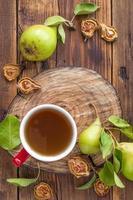 compota de frutas secas foto