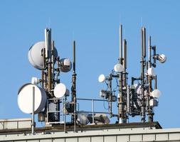 antenas de telecomunicações foto