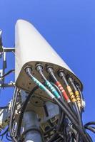 antena transceptor telecomunicações foto