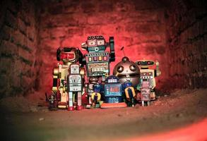robôs de festa