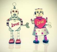 amor robô foto