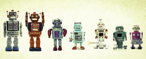 robôs da equipe foto