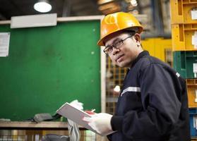 engenheiro industrial foto