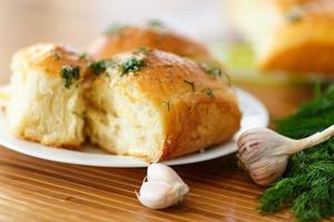 pães de alho foto