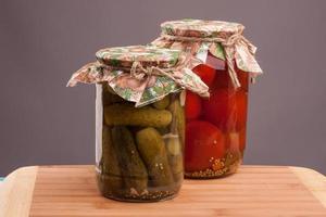 legumes em conserva foto