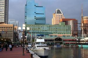 beira-mar da cidade foto