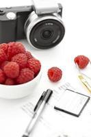 fotógrafo de alimentos foto