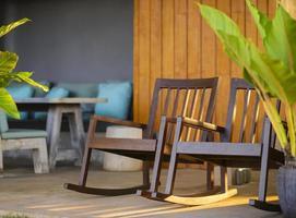 cadeiras de balanço foto