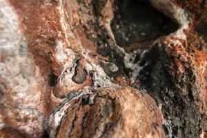 sal-gema em pedras foto