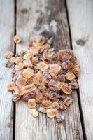 açúcar de cana-de-rocha