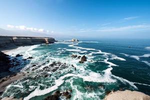 rocha portada, antofagasta, chile foto