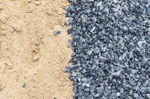 pedra e areia foto