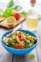 cozinha oriental - salada de tabouli foto