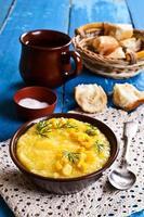 sopa de milho foto