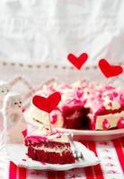 """"""" bolo de veludo vermelho foto"""