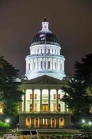 Capitólio do estado da Califórnia em sacramento foto