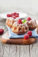 muffins de framboesa foto