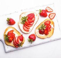 café da manhã de verão foto