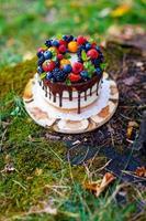 bolo de verão berry foto