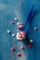corações de açúcar foto