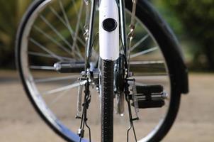 rodas de bicicleta foto