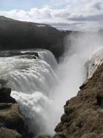 cachoeira da islândia foto