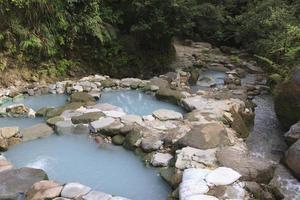 fontes termais de taiwan foto