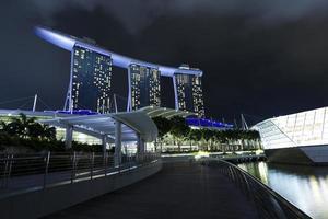 marina bay, cingapura foto