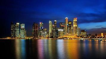 skyline de cingapura foto