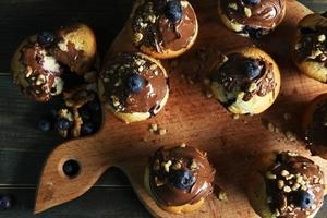 muffins de mirtilo foto