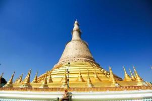 shwedagon paya em yangon, Birmânia foto
