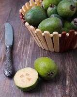 frutas de feijoa