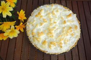 torta de abacaxi foto