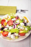 salada da grécia foto